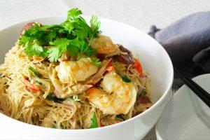 curry coconut noodles