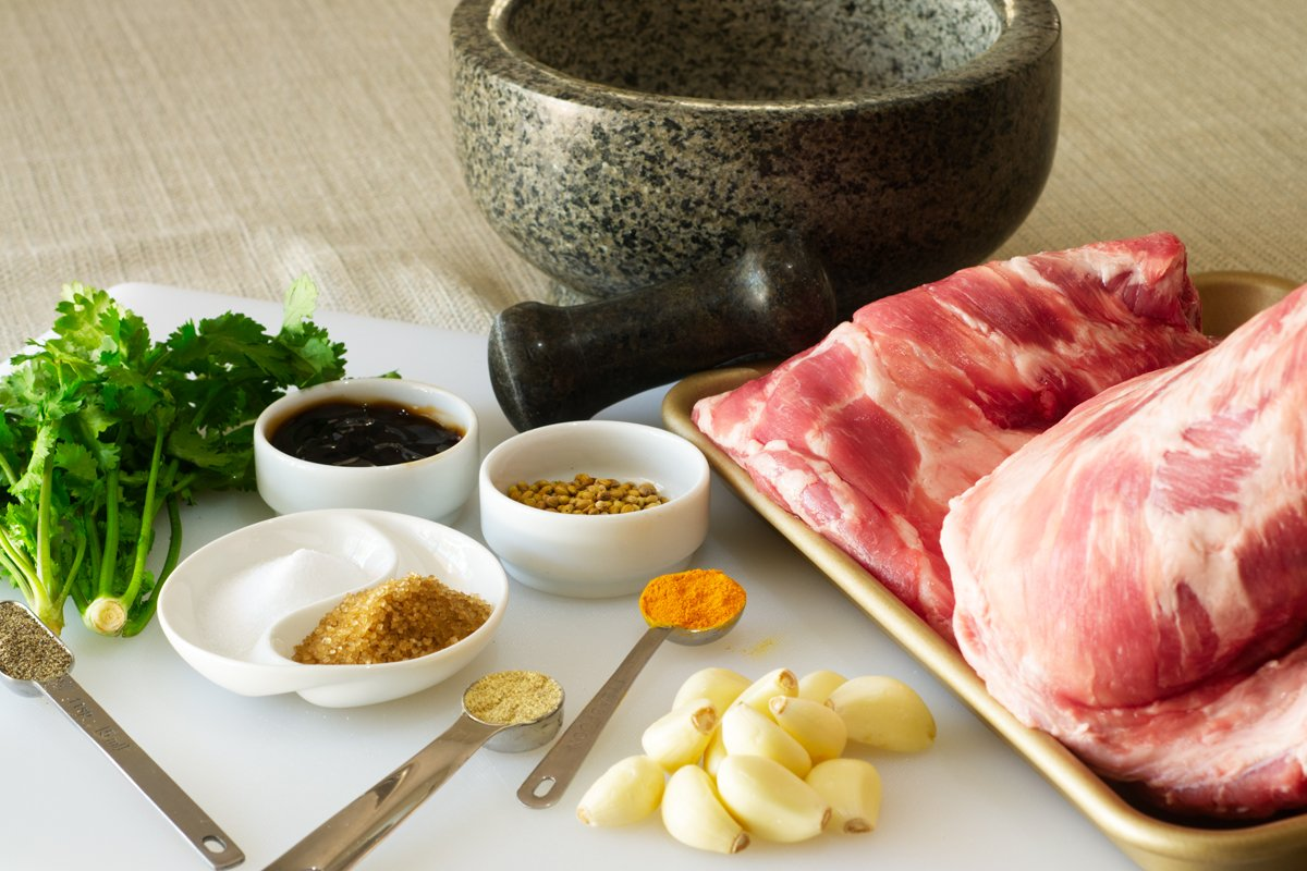 asian spiced spare rib ingredients