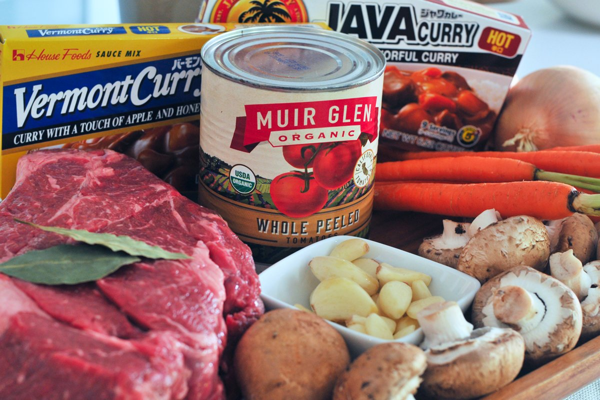 beef curry ingredients