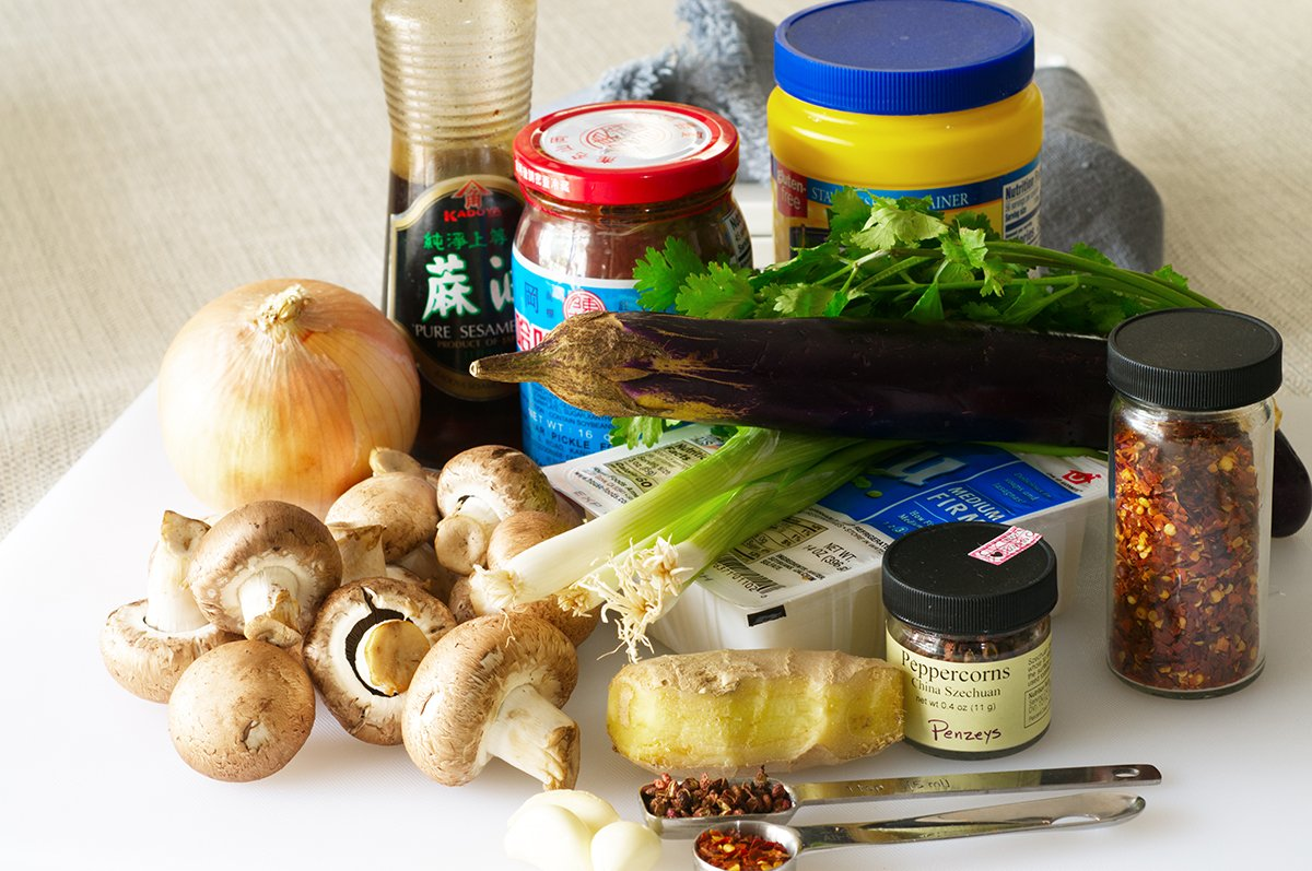 vegan mapo tufo ingredients