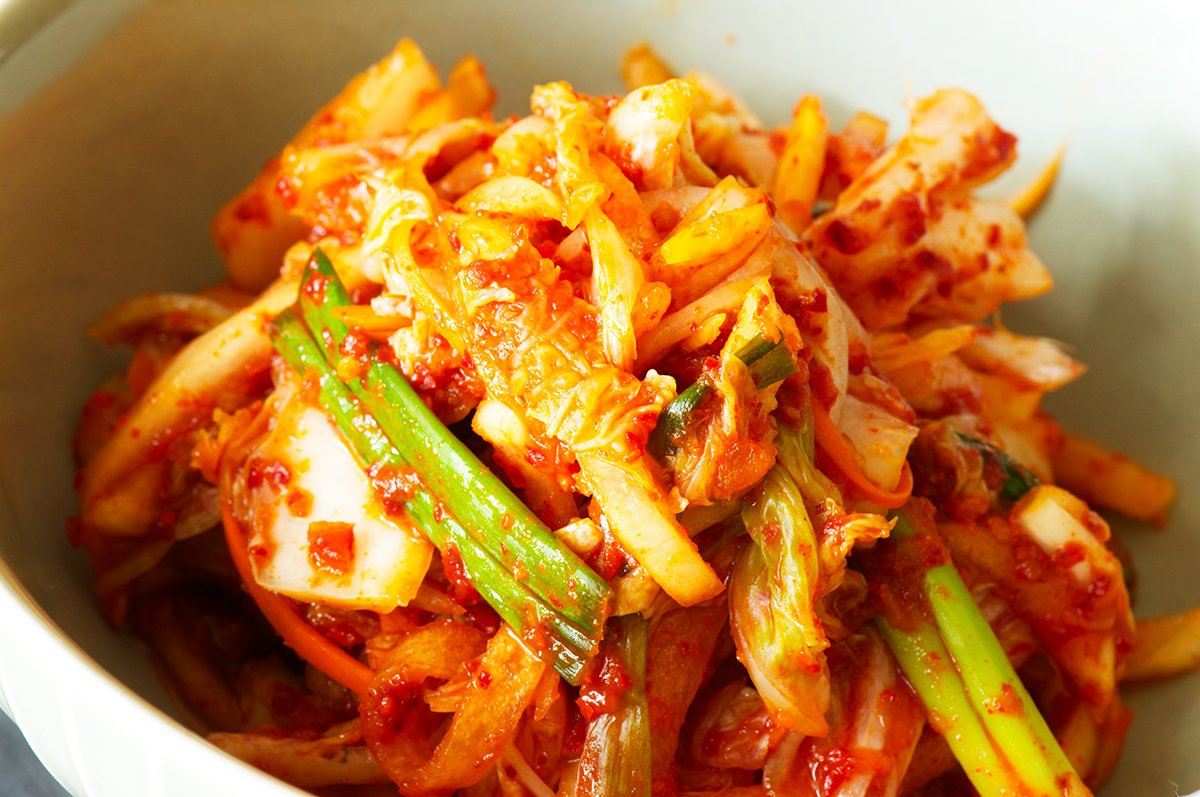 finished real deal kimchi
