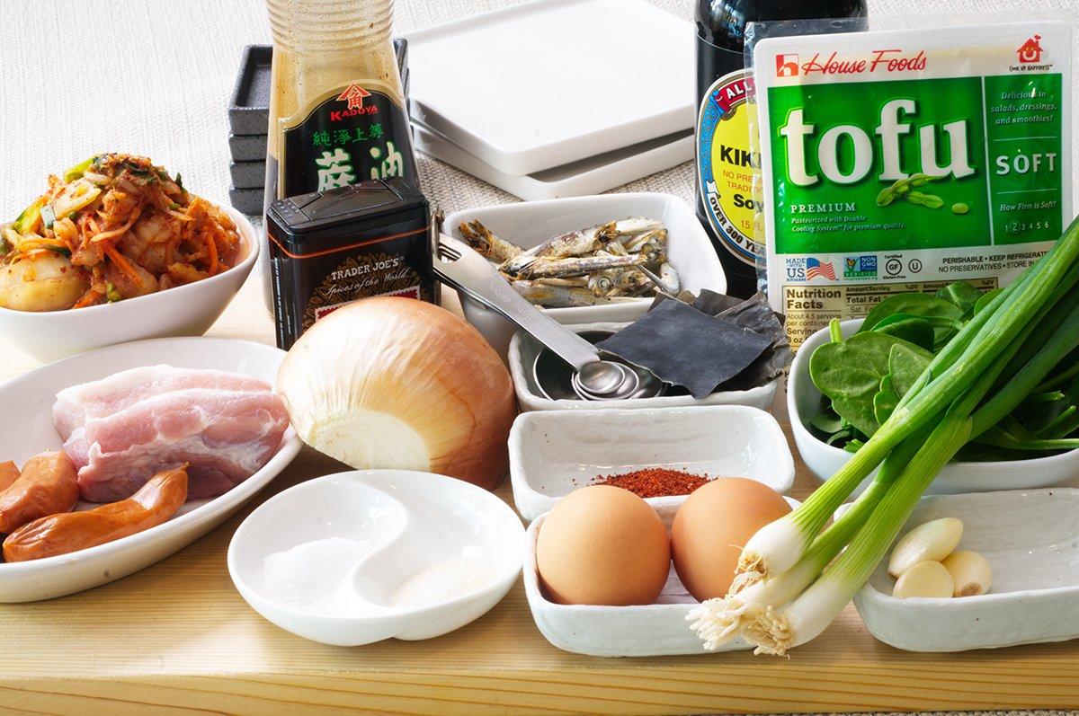 kimchi stew ingredients