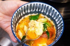 beauty shot kimchi stew