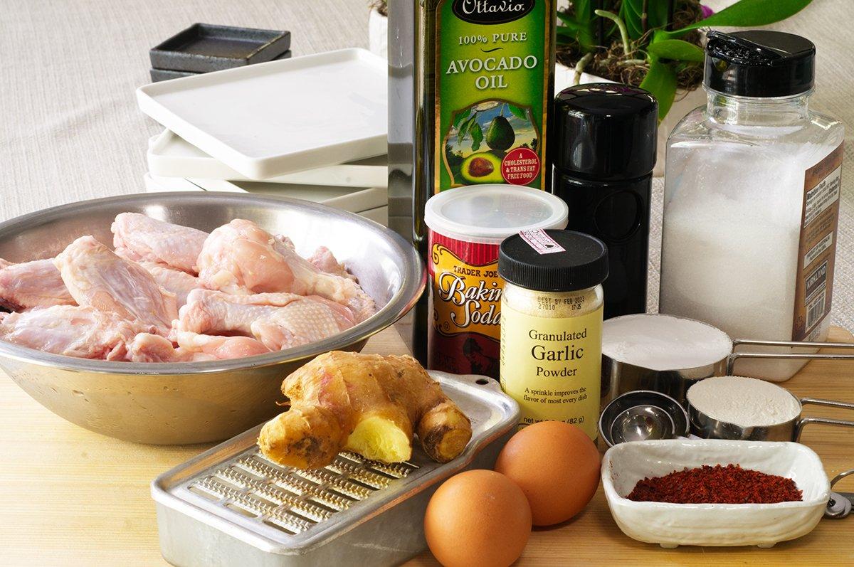 ingredients korean fried chicken