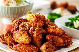 feature korean fried chicken