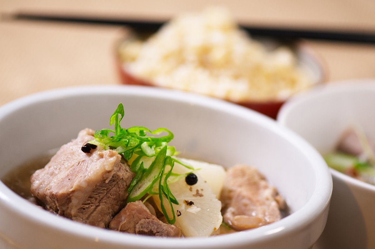 Pork Rib and Radish Soup