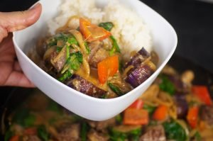 red curry thai beef feature