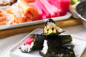 featured image sushi party