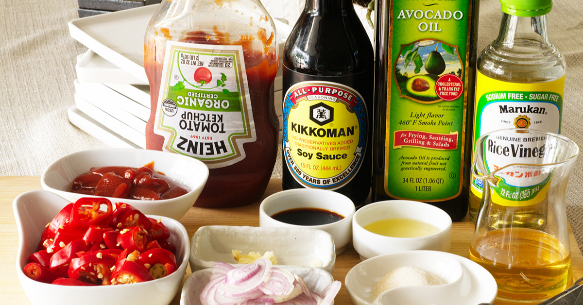 homemade sriracha ingredients