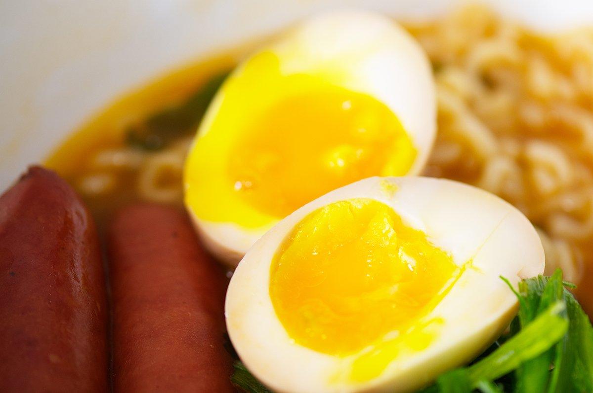feature ramen eggs