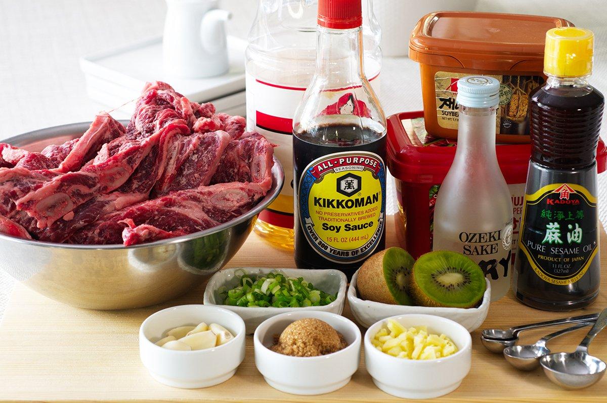 korean short rib ssam ingredients