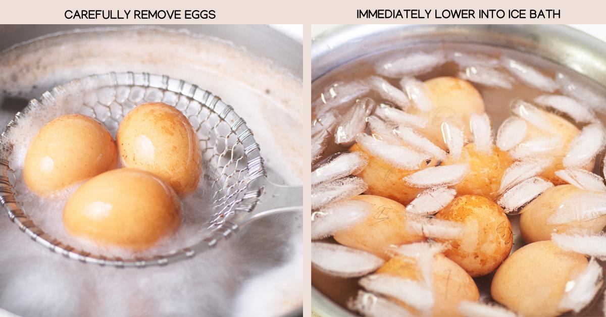 ramen egg ice bath
