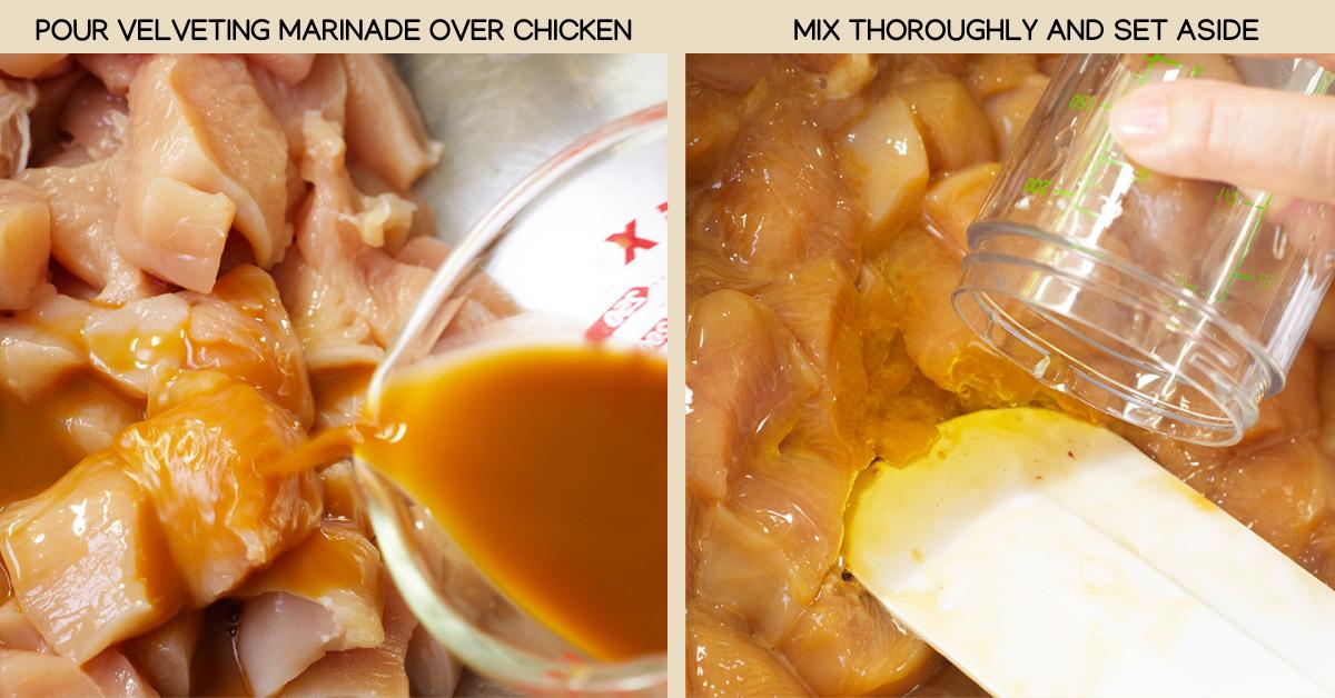 thai basil chicken marinade