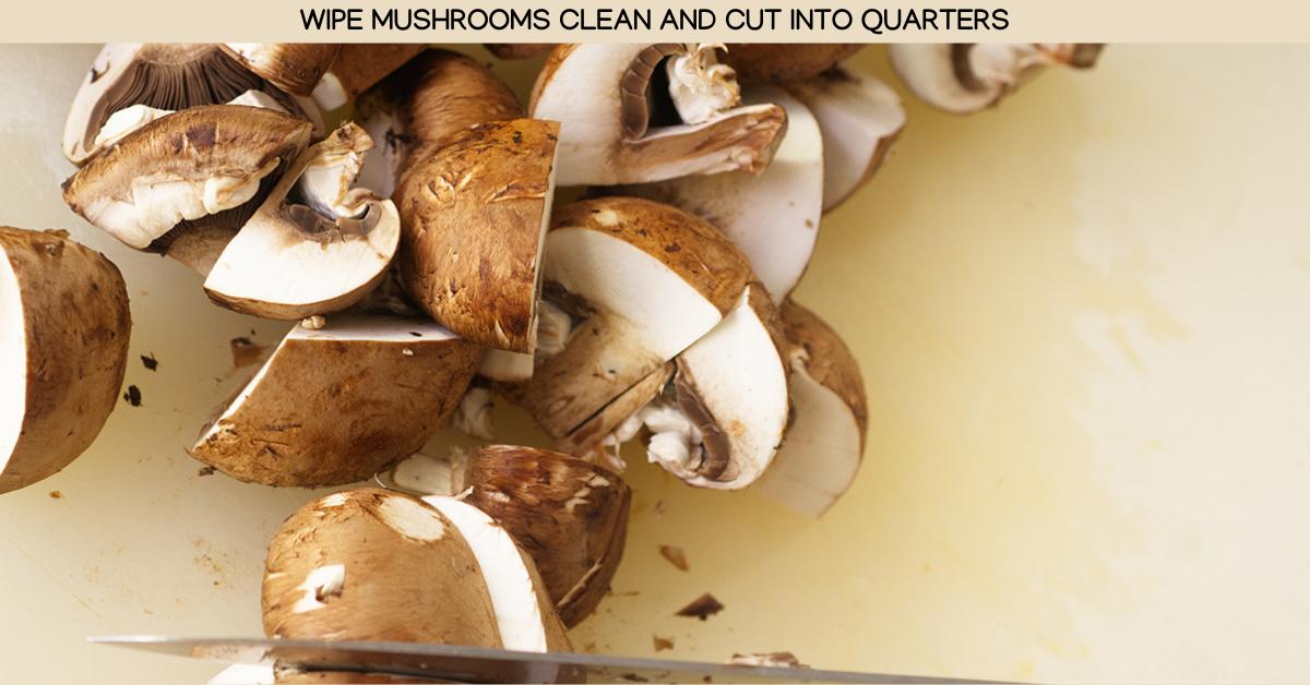 mushrooms thai basil chicken