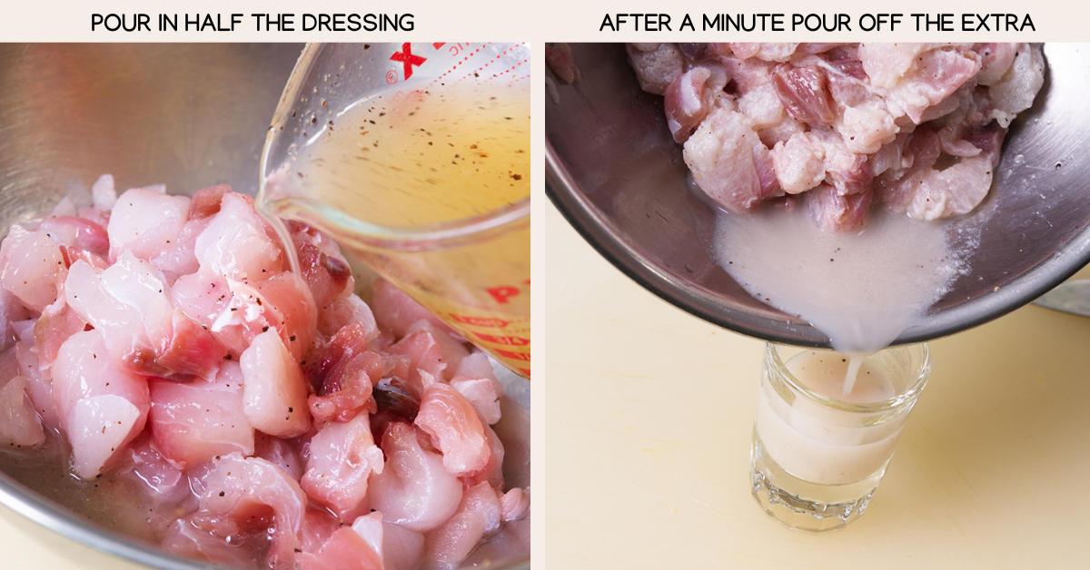 tropical ceviche dressing