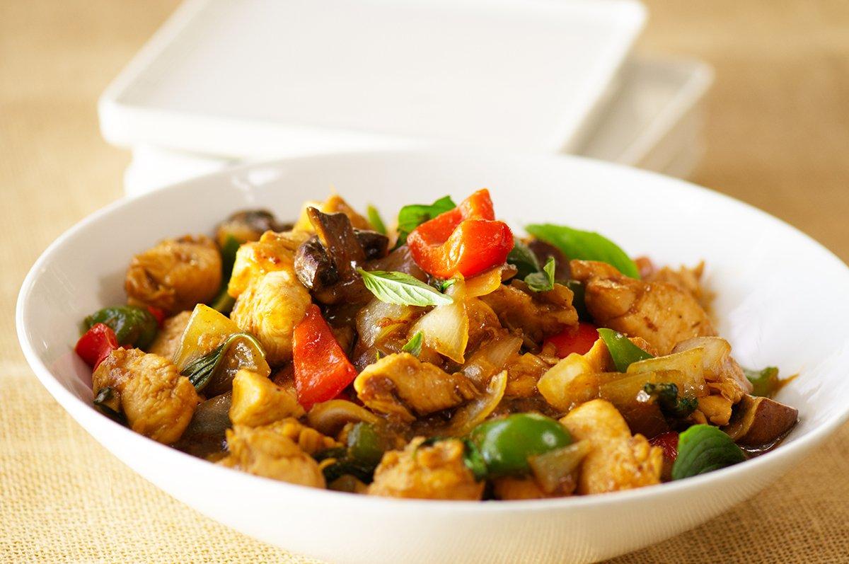 feature thai basil chicken