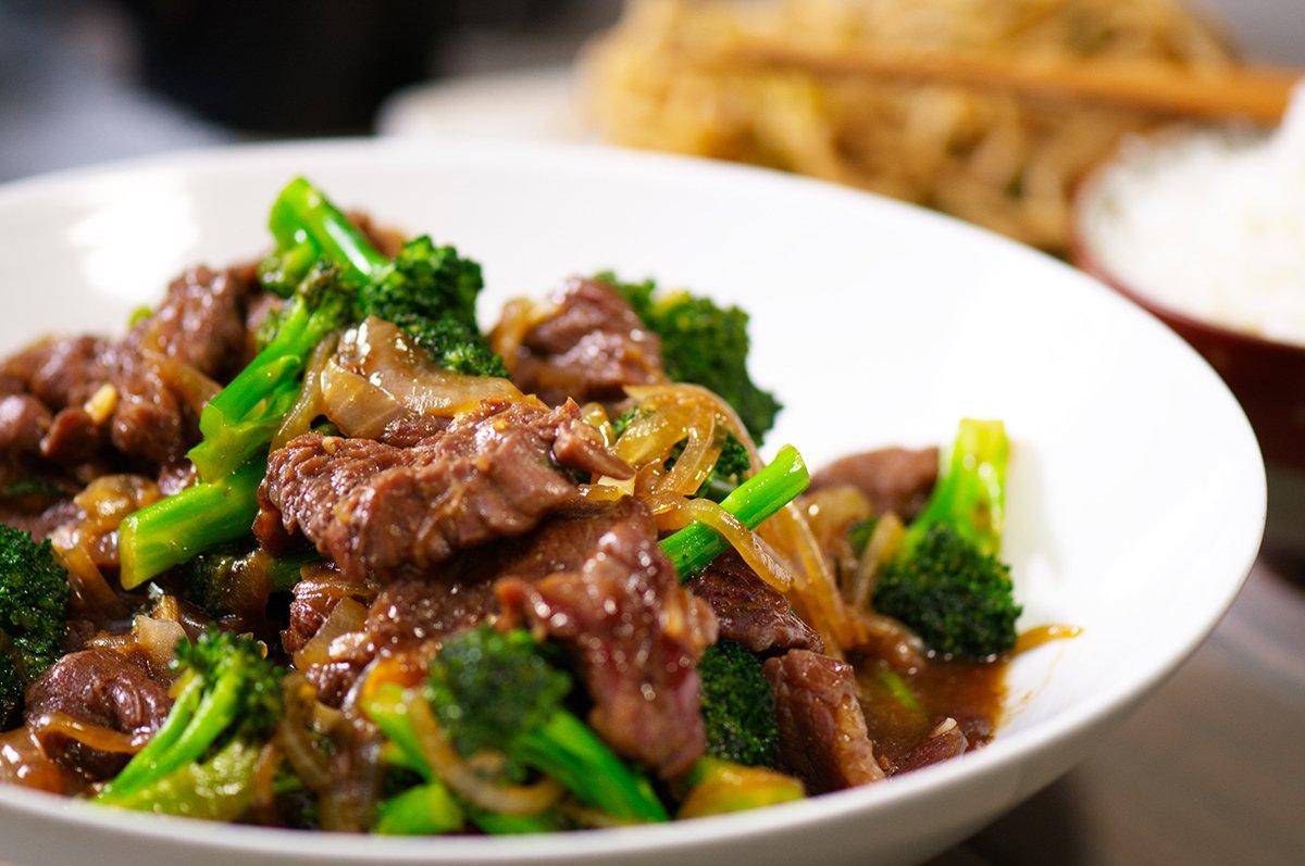 broccoli beef beauty