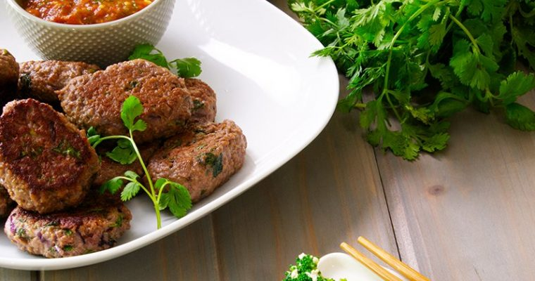 Spiced Beef Patties
