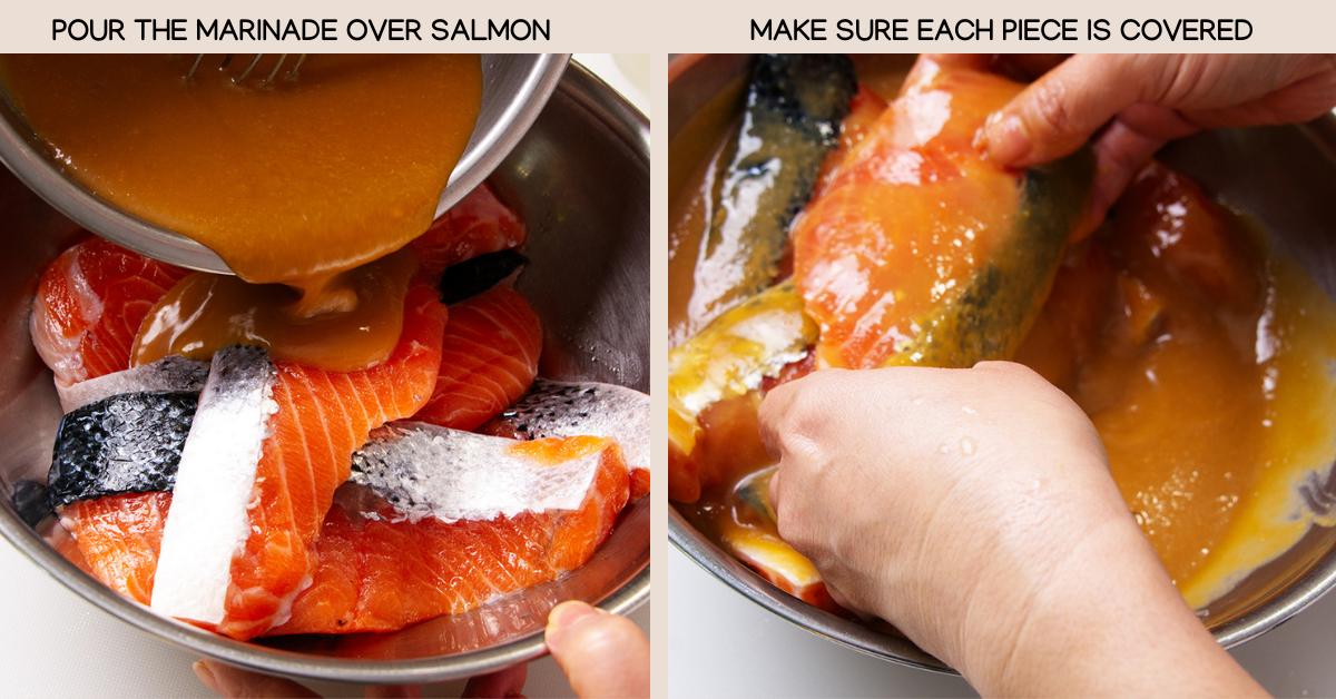 prep miso salmon